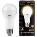 Лампа светодиодная Gauss LED A60 12W E27 2700K 1220Lm 220V LD102502112