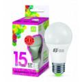 Лампа светодиодная LED-A60-standard 15Вт 230В Е27 6500К 1350Лм ASD