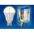 Лампа светодиодная Uniel Palazzo LED-A60-11W/WW/E27/FR ALP01WH 1100Lm 3000K 175-265V
