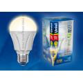 Лампа светодиодная Uniel Palazzo LED-A60-9W/WW/E27/FR ALP01WH 900Lm 3000K 175-265V