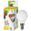 Лампа светодиодная LED-ШАР-standard 5Вт 230В Е14 3000К 450Лм ASD