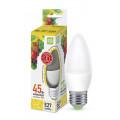 Лампа светодиодная LED-СВЕЧА-standard 5Вт 230В Е27 3000К 450Лм ASD