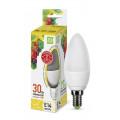 Лампа светодиодная LED-СВЕЧА-standard 3.5Вт 230В Е14 3000К 320Лм ASD