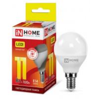 Лампа светодиодная LED-ШАР-VC 11Вт 230В Е14 3000К 820Лм IN HOME - серия VISION CARE