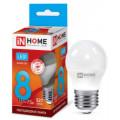 Лампа светодиодная LED-ШАР-VC 8Вт 230В Е27 4000К 600Лм IN HOME