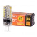 Лампа LED WOLTA JC G4 2,5Вт 12V 3000K 200Лм