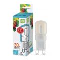 Лампа светодиодная LED-JCD-standard 3Вт 230В G9 4000К 270Лм ASD