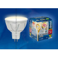 Лампа светодиодная софит Uniel Palazzo LED-MR16-5W/WW/GU5.3/FR ALP01WH 450Lm 3000K 12V