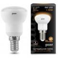 Лампа светодиодная Gauss LED R39 4W E14 2700K 350Lm 220V LD106001104