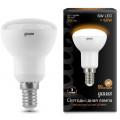 Лампа светодиодная Gauss LED R50 6W E14 2700K 500Lm 220V LD106001106