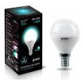 Лампа светодиодная шар Gauss LED 4W E14 4100K 370Lm 220V EB105101204
