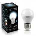 Лампа светодиодная шар Gauss LED 4W E27 4100K 370Lm 220V EB105102204