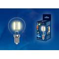 Лампа светодиодная шар Uniel Sky LED-G45-6W/WW/E14/CL PLS02WH 500Lm 3000K 200-250V