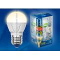 Лампа светодиодная шар Uniel Palazzo LED-G45-6W/WW/E27/FR ALP01WH 600Lm 3000K 175-265V