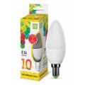 Лампа светодиодная LED-СВЕЧА-standard 10Вт 230В Е14 3000К 900Лм ASD