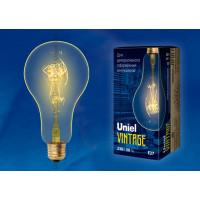 Лампа накаливания Uniel серия VINTAGE ЛОН A95 60W E27 форма нити SW
