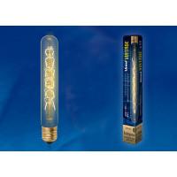 Лампа накаливания Uniel серия VINTAGE цилиндр L32 60W E27 форма нити CW