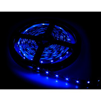 Светодиодная лента синего свечения 4,8Вт/м для помещений - упаковка 5 метров