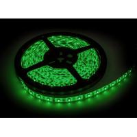 Светодиодная зеленая лента 4,8Вт/м герметизированная - упаковка 5 метров