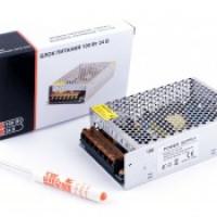 Блок питания для светодиодной ленты мощностью 100W в металлическом корпусе