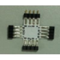 X Коннектор для светодиодной ленты RGB 10мм без провода
