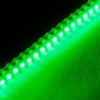Гибкая герметичная светодиодная лента бокового свечения SWG DIP 96 Green LED 7.7Вт/м, 12V, IP67