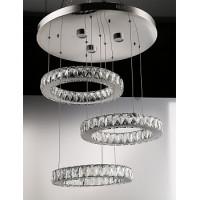 Люстра светодиодная хрустальная DW-8822