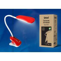 Светильник настольный светодиодный с прищепкой TLD-513 Red