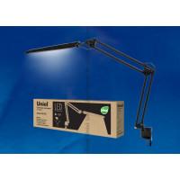 Светильник настольный светодиодный на струбцине TLD-524 Black с диммером