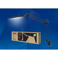 Светильник настольный светодиодный на струбцине TLD-525 Black с диммером