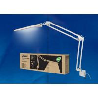 Светильник настольный светодиодный на струбцине TLD-525 White с диммером