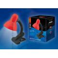 Светильник настольный с прищепкой TLI-206 Red цоколь Е27
