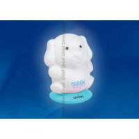 Ночник светодиодный аккумуляторный DTL-305-Собачка/3color на голубой подставке