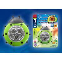 Ночник светодиодный на батарейках DTL-354-Божья коровка Green