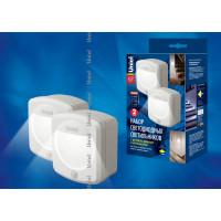 Ночник светодиодный на батарейках DTL-365-Altair 2 White с датчиком движения и фотосенсором
