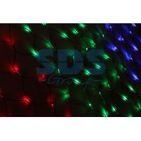 Гирлянда Сеть светодиодная IP20 1x1,5м