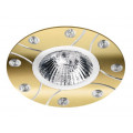 Встраиваемый точечный светильник MR16 alum decor ALUM04GD-DL50GU5.3 под лампу MR16 Золото WOLTA