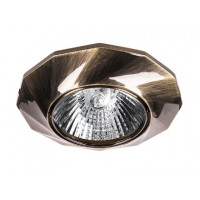 Светильник WOLTA для светодиодных ламп MR16 корпус Бронза