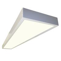 Светодиодный накладной светильник IP54 SENAT для чистых и медицинских помещений - аналог ЛПО 2x36