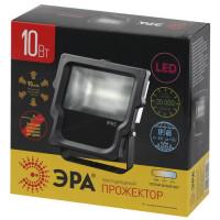 Светодиодный прожектор ЭРА мощностью 10 Вт - Аналог галогенного прожектора 60 Вт