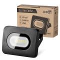 Светодиодный прожектор LFL-20W/05, 5500K, 20 W SMD, IP 65,цвет черный, слим Wolta