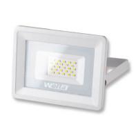 Светодиодный прожектор Wolta белого цвета мощностью 20 Вт - Аналог галогенного прожектора 100 Вт