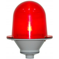 Заградительный огонь «ЗОМ-2-АВ», >10cd, тип «А», 30-265V AC/DC, IP65