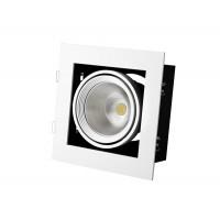 Встраиваемый карданный поворотный светодиодный светильник Grazioso 1 LED 30 clean Белый 2059Lm 4000K