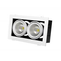 Встраиваемый карданный поворотный светодиодный светильник Grazioso 2 LED 2x30 clean Белый 3574Lm 3000K