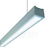 Линейный LED светильник SENAT Hermes мощностью 100Вт для торговых и иных помещений