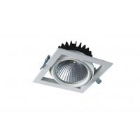 Встраиваемый карданный поворотный светодиодный светильник Glissando LED 1x25 clean 2500Lm 4000K